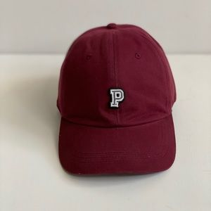 Pink Victoria's Secret baseball hat